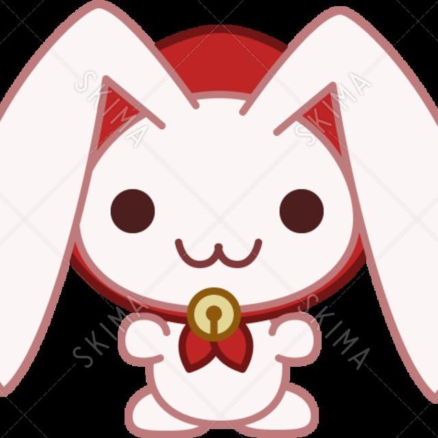 頭巾ウサギちゃん(表情差分2つ付き)