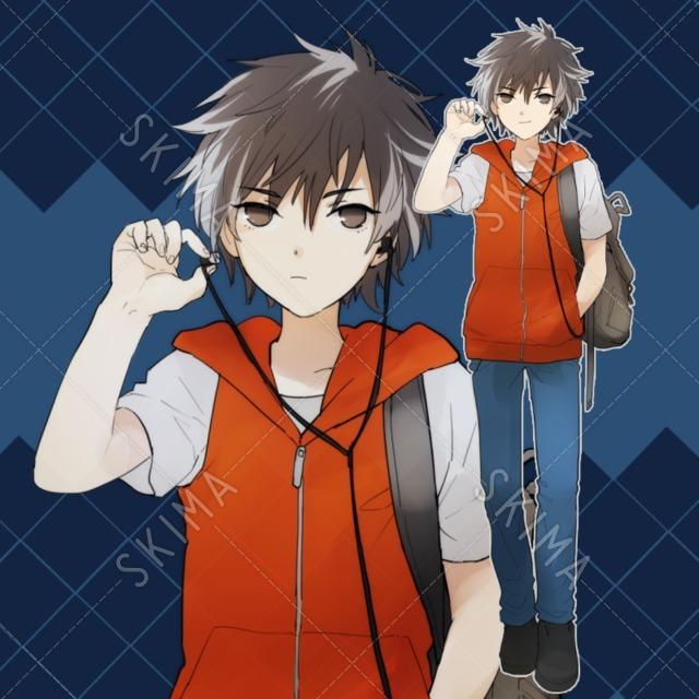 少年(表情2種)