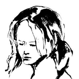 【修正回数無制限】水墨画風のカッコいい似顔絵を描きます