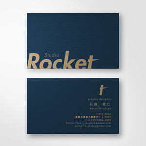 名刺 or ショップカードを制作いたします