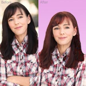 顔写真を美化補正致します。お見合い、SNS、ブログ写真に最適です。