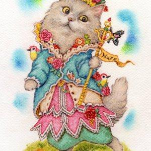 【犬、猫、その他動物】ペットの肖像画(A5サイズ)制作【アナログ】