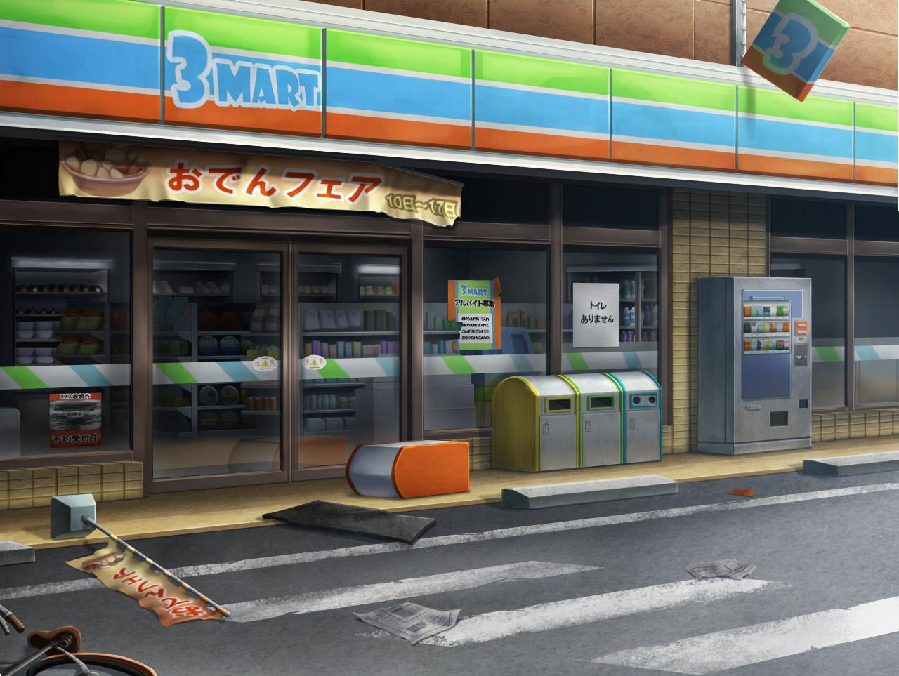 コンビニ背景 | スキマ - スキルのオーダーメイドマーケット - skima